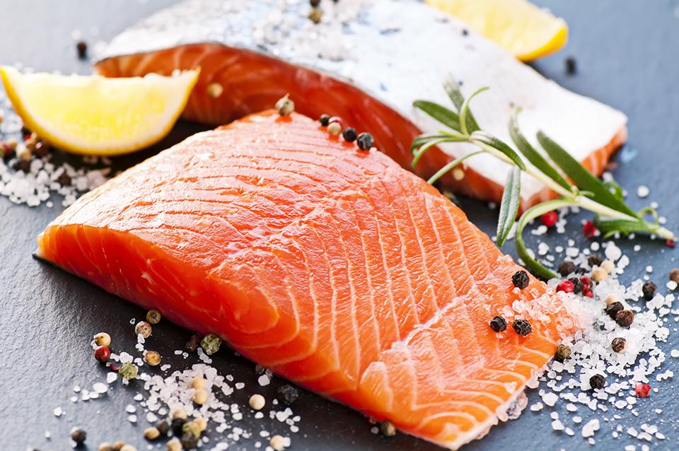 produits mer saumon poisson